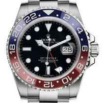 Rolex GMT Master II 18k White Gold Pepsi Bezel 116719 BLRO