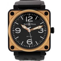 Bell & Ross Aviation 18K Rose Gold Watch BR01-92