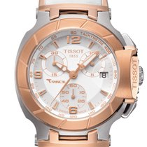Tissot T-Race Chronograph Lady White Dial 36,65mm T
