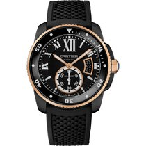 Cartier Calibre de Cartier Carbon Diver Watch