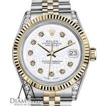 Rolex Woman's Rolex 36mm Datejust 2 Two Tone White Color...