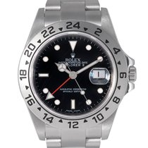 Rolex Explorer II Black Dial Ref: 16570, With Papers (Rehaut)