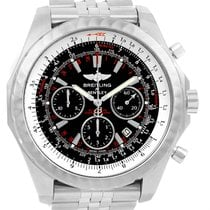 Breitling Bentley Motors T Speed Black Dial Watch A25365 Box...
