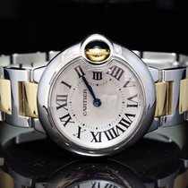 Cartier 2013 Ballon Bleu 28mm, Steel & Gold, MINT, Box...