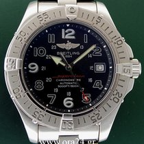 Breitling SuperOcean 42mm Automatic Date 2012 Black Dial...