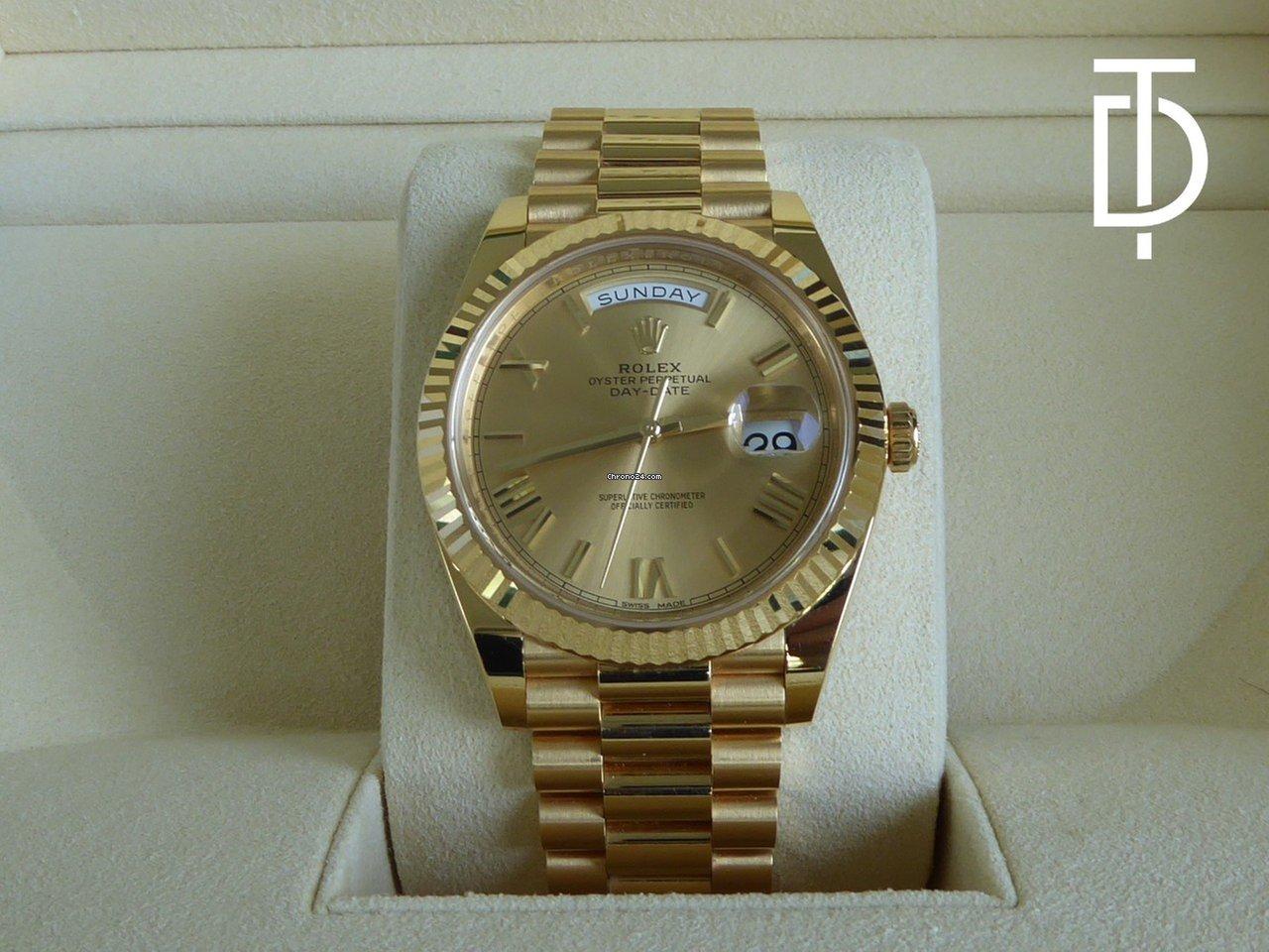 ac1c22e1390 Rolex Day-Date 40 por R  108.718 para vender por um Seller na Chrono24