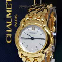 Chaumet Ladies Dress Watch 18k Yellow Gold Quartz Watch Box/Book