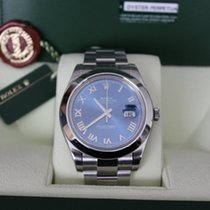 Rolex DATEJUST II, , ZB blau/römisch