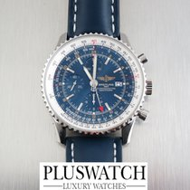 Breitling Navitimer world  blue SPECIAL OFFER