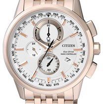 Citizen Elegant Eco Drive Funk Herrenchronograph AT8113-55A