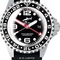 Chris Benz Deep 2000m Automatic GMT Super Bubble CB-2000A-D3-K...
