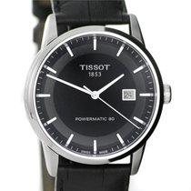 Tissot watch Le Locle Powermatic 80 black dial , leather str