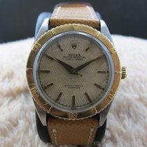 Rolex Turn-O-Graph 6202 2-Tone with Creamy Honeycomb Dial