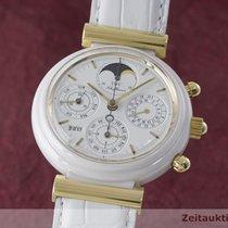 IWC Da Vinci Ewiger Kalender Chronograph 18k Gold Keramik 3755