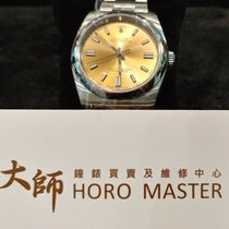 Rolex Horomaster- Oyster Perpetual White grape/Steel 36mm 116000