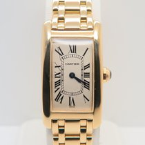 Cartier Tank Américaine 18k Yellow Gold