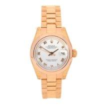Rolex Datejust 179165 - Ladies Watch - 18ct Rose Gold - Unworn...