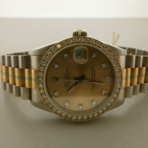 Rolex President Tridor 31mm Mid 18k 68289 Lds' Watch...