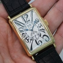 Franck Muller Long Island 18k Yellow Gold 1200 S6 Gg - 1200s6gg