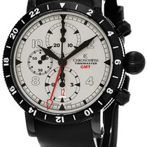 Chronoswiss Timemaster Chrono GMT Chronograph Stainless Steel...