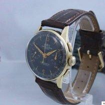 Bwc Chronograph Suisse 585 / 14 Gold Antimagnetic Landeron...