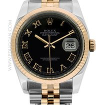 Rolex stainless steel and 18k Everose gold Datejust
