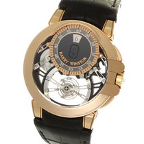 ハリーウィンストン (Harry Winston) Ocean Tourbillon Jumping Hour Pink...