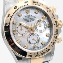 Rolex 40mm Steel & Gold Daytona Factory MOP  Diamond...