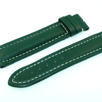 Breitling Utc Band 20mm Green Verde Calf Strap Correa Utc-7