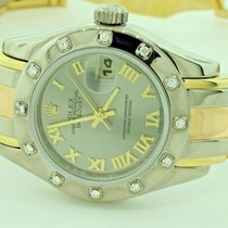 Rolex Masterpiece Pearlmaster 18K Solid Tridor Diamonds