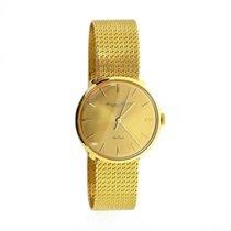 IWC De Luxe 1750289 Handaufzug 750 Gelbgold Papiere
