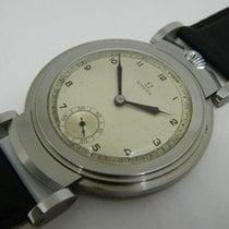 Omega men's marriage wristwatch~ circa 1937