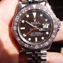 Rolex GMT-Master 1675 Mark I long E TROPICAL 1972