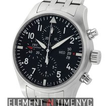 IWC Pilot Collection Pilot Chronograph Stainless Steel On...