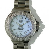 TAG Heuer Formula 1 Professional Lady Diamond Stahl Quarz 36mm