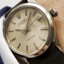 Rolex Original Rolex Oysterdate Precision Stahl mit Datum –...