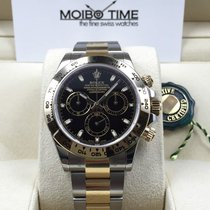 Rolex Cosmograph Daytona 116503 Gold Steel Black Dial [NEW]