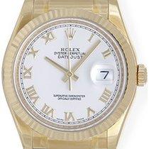 Rolex Datejust Men's 18k Yellow Gold Watch 116138
