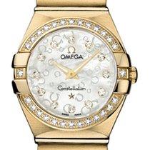 Omega Constellation Brushed 24mm 123.55.24.60.55.016
