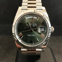 Rolex DAY-DATE 40MM - 228239 OLIVE GREEN ROMAM