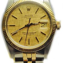 Rolex 18k Gold and Steel Oyster Perpetual Date on Jubilee 1975