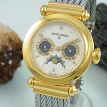Charriol Chistopher Columbus Mondphase Day Date Stahl / Gold