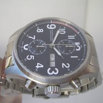Hamilton Khaki Officer Chronograph With BOX & PAPERS