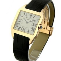 Cartier W2006951 Santos Dumont - Large Size - Rose Gold on...