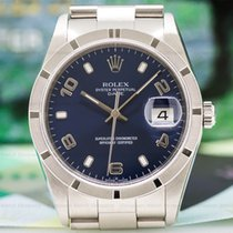 Rolex 15210 Oyster Date Blue Dial SS / SS (26260)