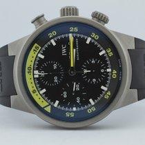 IWC Aquatimer Ti Inner Bezel Chronograph Iw371918 On Rubber Strap