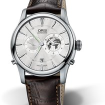 Oris CULTURA ARTELIER GREENWICH MEAN TIME LIMITED ED. Guilloche