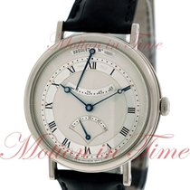 Breguet Classique Retrograde Seconds, Silver Dial - White Gold...