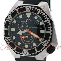 Girard Perregaux Sea Hawk III, Black Dial - Stainless Steel on...