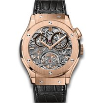 Hublot Classic Fusion Tourbillon Skeleton King Gold 45mm
